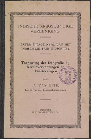 Indische Militair Tijdschrift - Extra Bijlagen 1921-01-01
