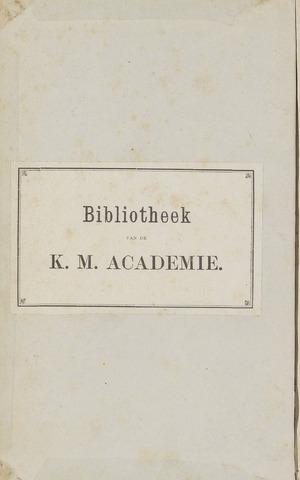 Militair Tijdschrift 1870