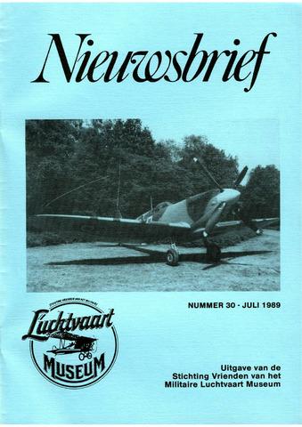 Nieuwsbrief Militaire Luchtvaart Museum 1989-07-01