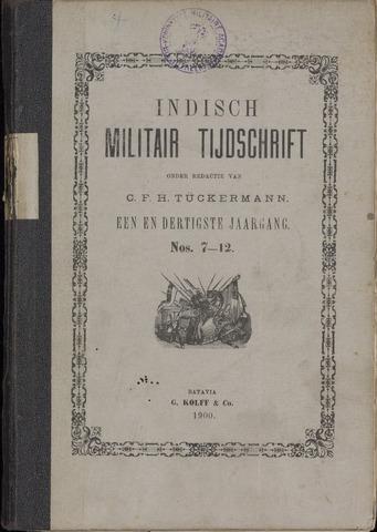 Indisch Militair Tijdschrift 1900-07-01
