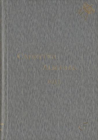 Almanak der Koninklijke Militaire Akademie 1915