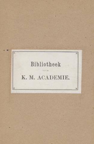 Indisch Militair Tijdschrift 1883