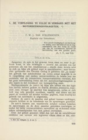 Indisch Militair Tijdschrift 1931-11-01