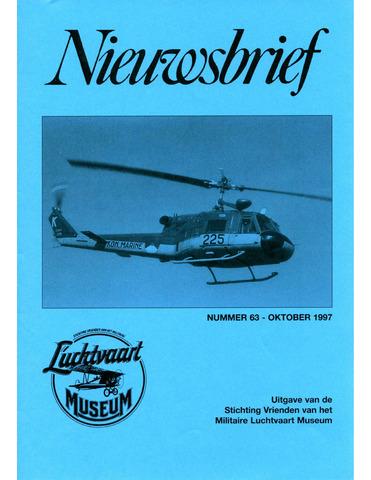 Nieuwsbrief Militaire Luchtvaart Museum 1997-10-01