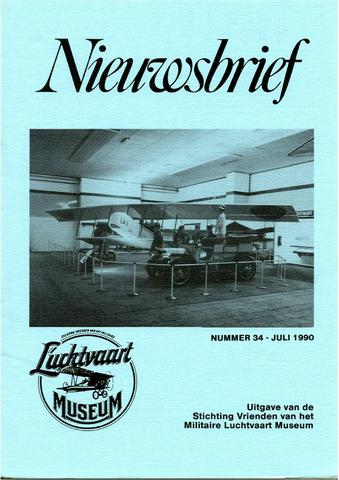 Nieuwsbrief Militaire Luchtvaart Museum 1990-07-01