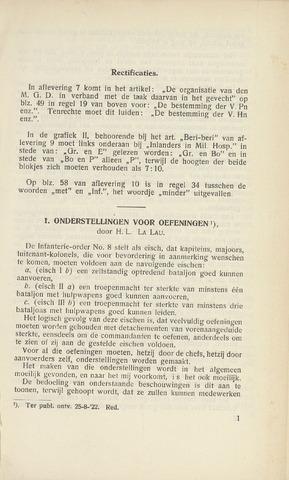 Indisch Militair Tijdschrift 1922-11-01