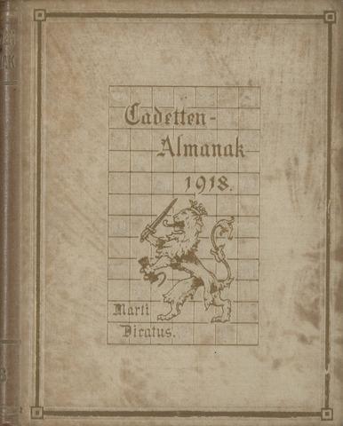 Almanak der Koninklijke Militaire Akademie 1918-01-01