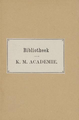Indisch Militair Tijdschrift 1885