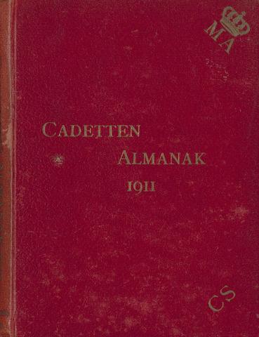Almanak der Koninklijke Militaire Akademie 1911-01-01