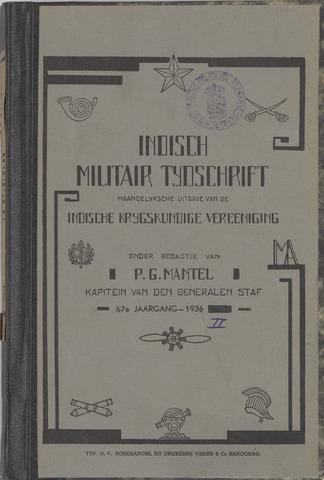 Indisch Militair Tijdschrift 1936