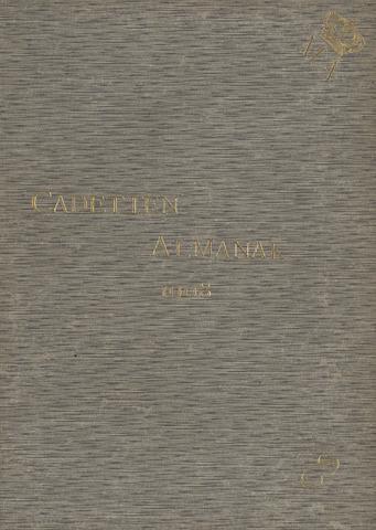 Almanak der Koninklijke Militaire Akademie 1908-01-01