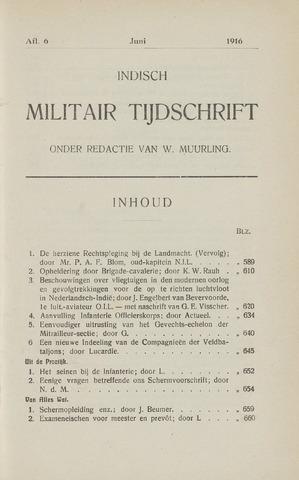 Indisch Militair Tijdschrift 1915-06-01