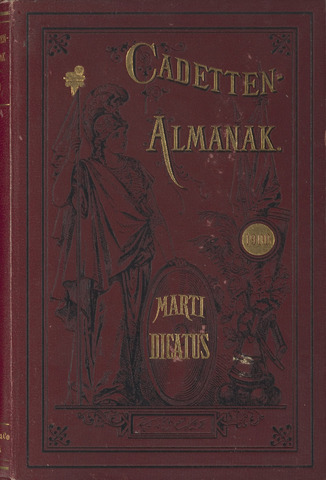 Almanak der Koninklijke Militaire Akademie 1900