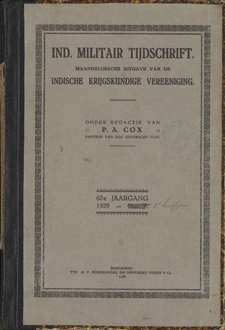 Indisch Militair Tijdschrift 1929-07-01