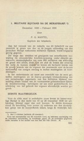 Indisch Militair Tijdschrift 1931-07-01