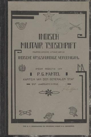 Indisch Militair Tijdschrift 1933-07-01
