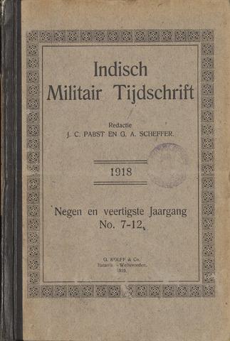 Indisch Militair Tijdschrift 1918-07-01