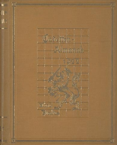 Almanak der Koninklijke Militaire Akademie 1922-01-01