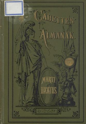 Almanak der Koninklijke Militaire Akademie 1902