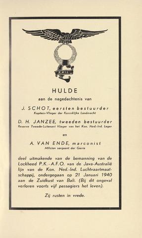 Indisch Militair Tijdschrift 1940-02-01