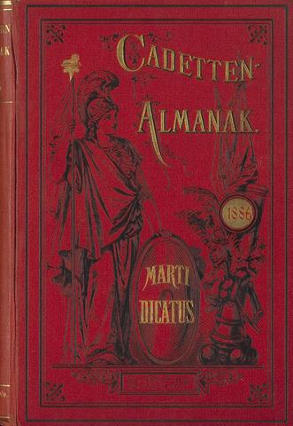 Almanak der Koninklijke Militaire Akademie 1886