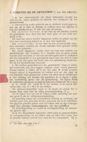 Indisch Militair Tijdschrift 1922-09-01