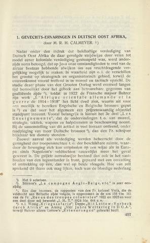 Indisch Militair Tijdschrift 1925-07-01