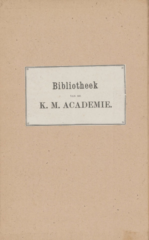 Indisch Militair Tijdschrift 1887