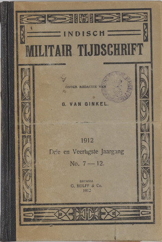 Indisch Militair Tijdschrift 1912-07-01