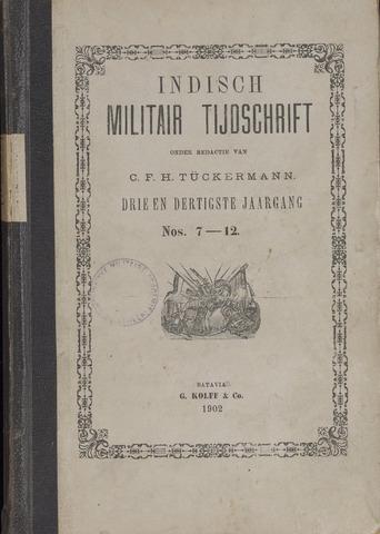 Indisch Militair Tijdschrift 1902-07-01