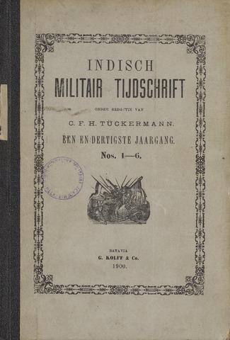 Indisch Militair Tijdschrift 1900-01-01