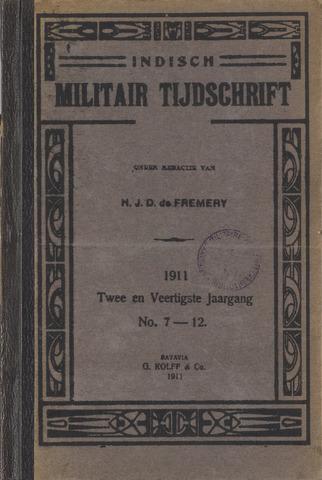 Indisch Militair Tijdschrift 1911-07-01