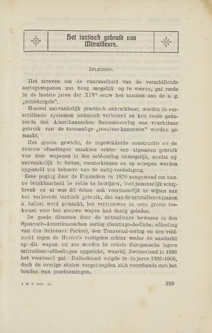 Indisch Militair Tijdschrift 1912-03-01