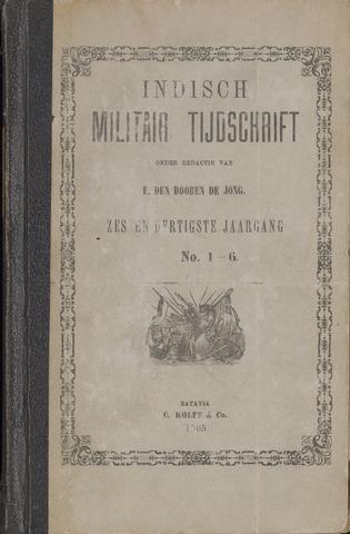 Indisch Militair Tijdschrift 1905