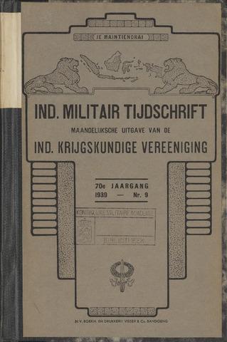 Indisch Militair Tijdschrift 1939-07-01
