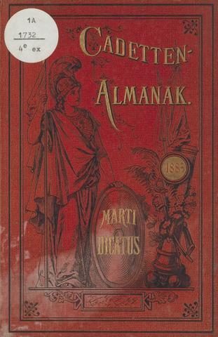 Almanak der Koninklijke Militaire Akademie 1883-01-01