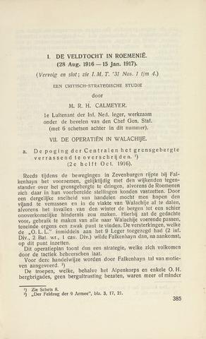 Indisch Militair Tijdschrift 1931-05-01