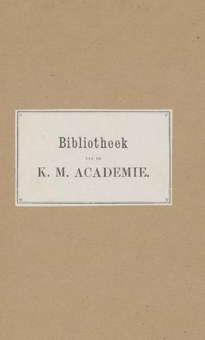 Indisch Militair Tijdschrift 1888