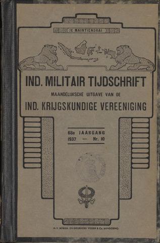 Indisch Militair Tijdschrift 1937
