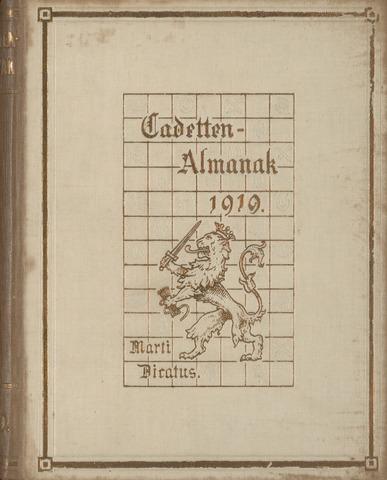 Almanak der Koninklijke Militaire Akademie 1919-01-01