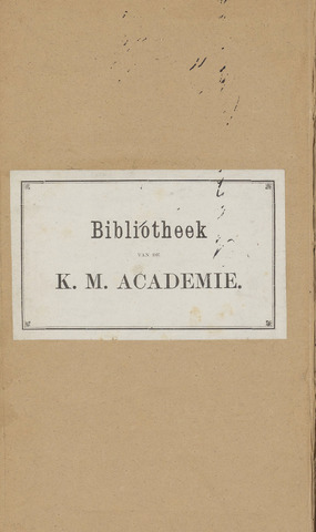 Militair Tijdschrift 1874-01-01