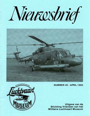 Nieuwsbrief Militaire Luchtvaart Museum 1993-04-01