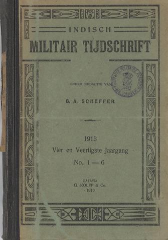 Indisch Militair Tijdschrift 1913