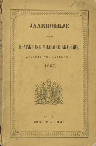 Almanak der Koninklijke Militaire Akademie 1867-01-01