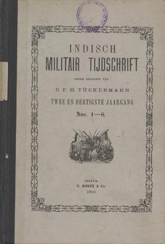 Indisch Militair Tijdschrift 1901