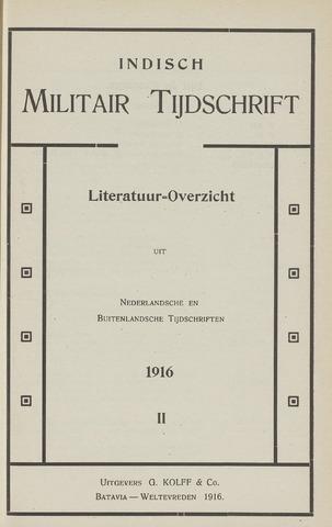 Indisch Militair Tijdschrift 1916-06-01
