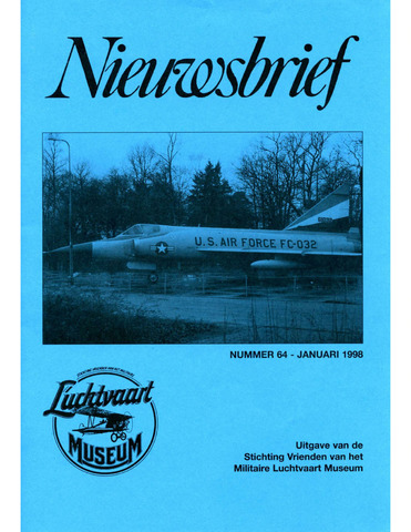 Nieuwsbrief Militaire Luchtvaart Museum 1998