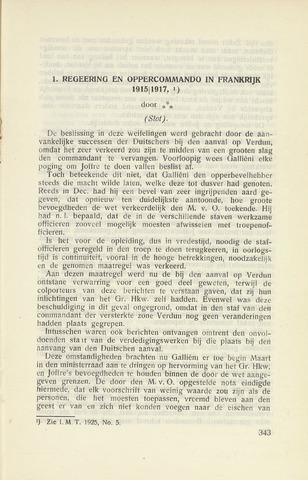 Indisch Militair Tijdschrift 1925-06-01