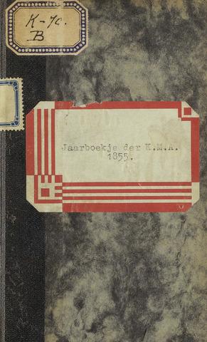 Almanak der Koninklijke Militaire Akademie 1855