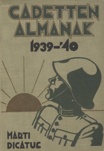 Almanak der Koninklijke Militaire Akademie 1939